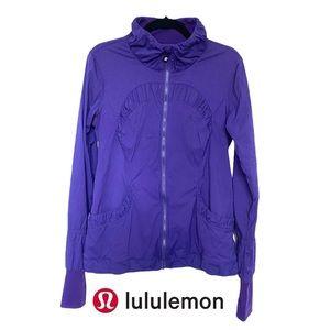 Lululemon Off to Class Jacket Lolo Purple Sz 10